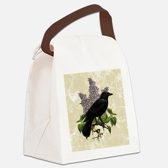 lilac-and-crow_9x12 Canvas Lunch Bag