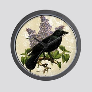 lilac-and-crow_13-5x18 Wall Clock