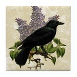 Crow Tile Coasters