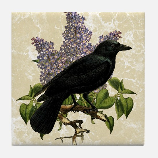 lilac-and-crow_13-5x18 Tile Coaster