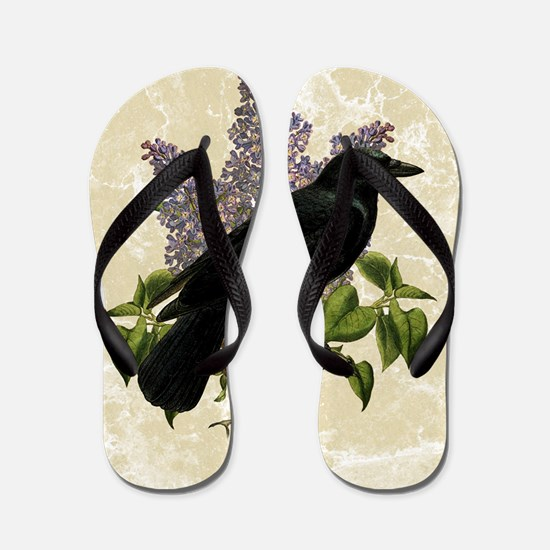 lilac-and-crow_13-5x18 Flip Flops
