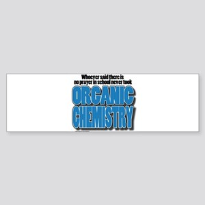 Orcanic Chemistry Bumper Sticker