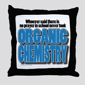 Orcanic Chemistry Throw Pillow