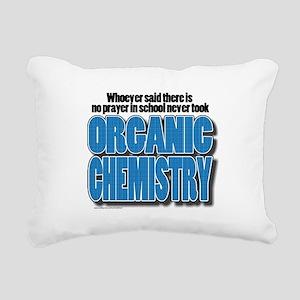 Orcanic Chemistry Rectangular Canvas Pillow