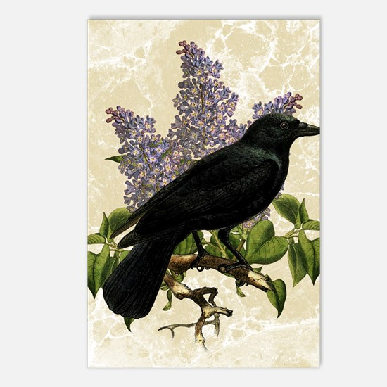 lilac-and-crow_sb Postcards (Package of 8)