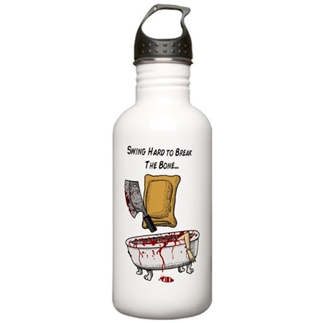 psycho pizza roll Stainless Water Bottle 1.0L