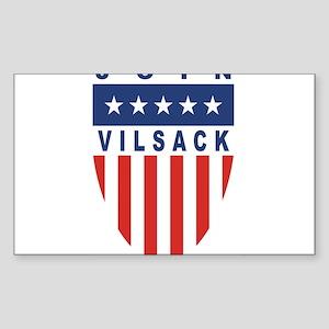 Join Tom Vilsack Rectangle Sticker