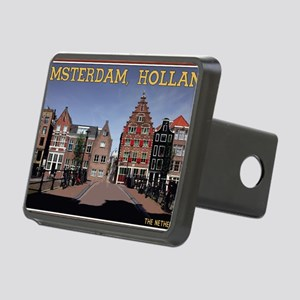 Amsterdam - Bridge and Bui Rectangular Hitch Cover