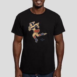 roller-nun-LTT Men's Fitted T-Shirt (dark)