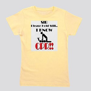 i know cpr Girl's Tee
