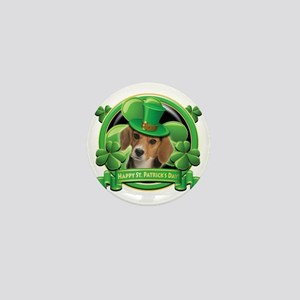 Happy St Patricks Day Beagle Mini Button