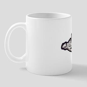 buffalo white letters Mug