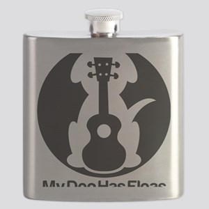 My Dog Has Fleas Ukulele Flask