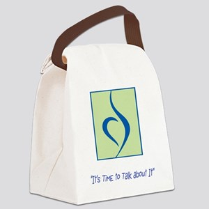 NEDA LOGO Canvas Lunch Bag