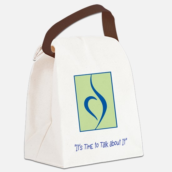 NEDA LOGO Canvas Lunch Bag