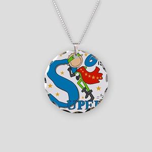 BIRTHDAYSUPER6 Necklace Circle Charm