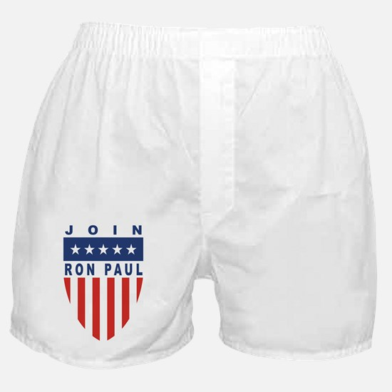 Join Ron Paul Boxer Shorts