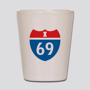 +i69 Shot Glass