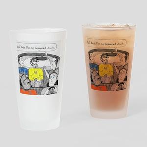 drunk designated Drinking Glass