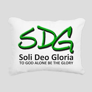 SDG basic Rectangular Canvas Pillow