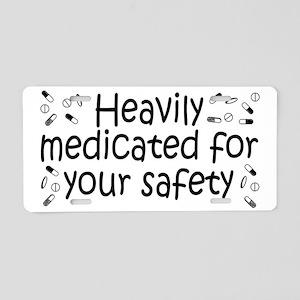 medicated_btle1 Aluminum License Plate