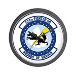 524th Fighter Squadron Wall Clock