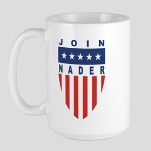 Join Ralph Nader Large Mug
