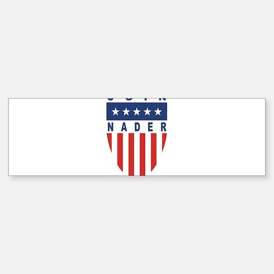 Join Ralph Nader Bumper Bumper Bumper Sticker