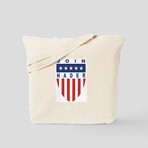 Join Ralph Nader Tote Bag