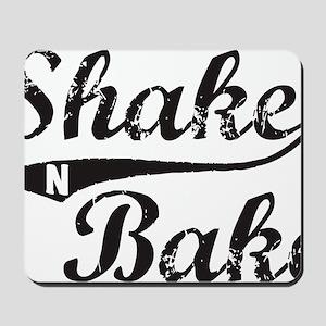 Shake and Bake Black Mousepad