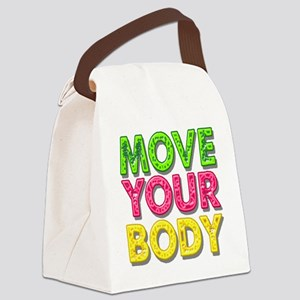 MPVE YOUR BODY Canvas Lunch Bag