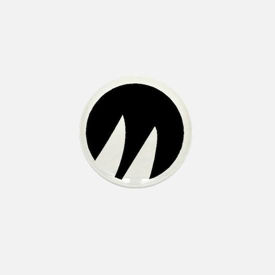 Black Moore Emblem Mini Button