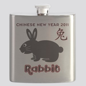 Year of Rabbit 2011 CNY Flask