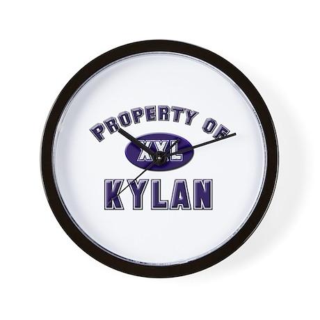 Property of kylan Wall Clock