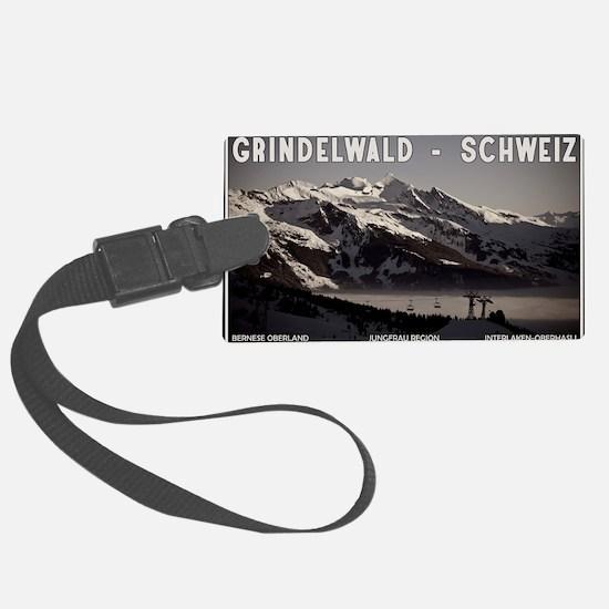 Grindelwald Fog Luggage Tag