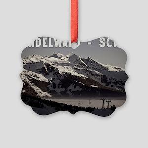 Grindelwald Fog Picture Ornament