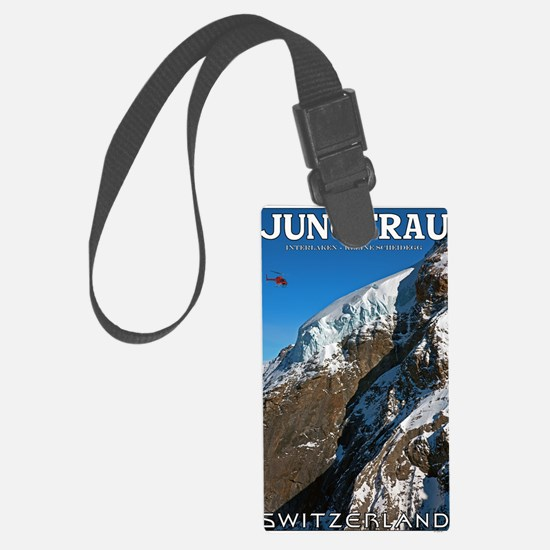 Jungfrau - Helicopter Luggage Tag
