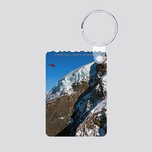 Jungfrau - Helicopter Aluminum Photo Keychain