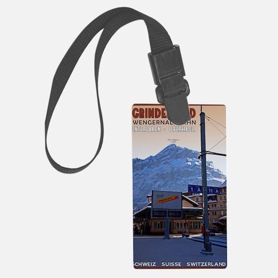 Grindelwald Wengernalpbahn Luggage Tag