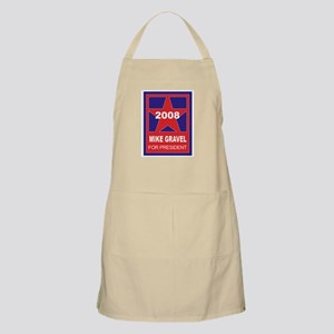 Mike Gravel for President (st BBQ Apron