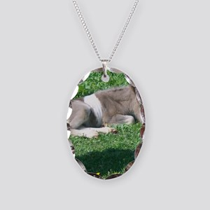 CorbanCP Necklace Oval Charm