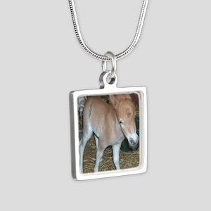 Spitfire Silver Square Necklace