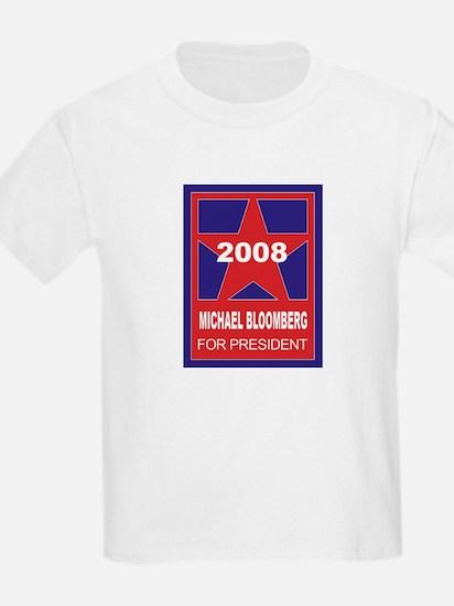 Michael Bloomberg for Preside Kids T-Shirt