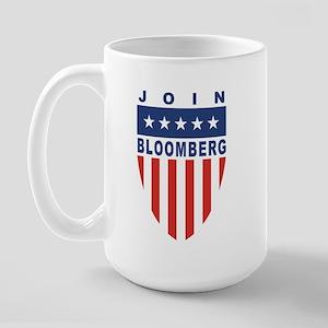 Join Michael Bloomberg Large Mug