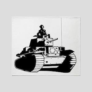 panzer Throw Blanket