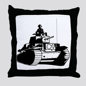 panzer Throw Pillow
