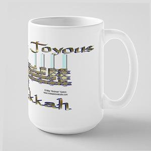 Menorrah Large Mug