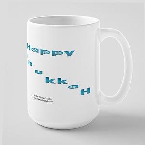 Hanukkah Stars Large Mug