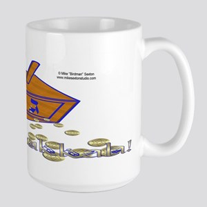 Dreidel Gold Large Mug