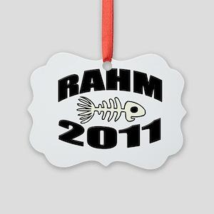 Rahm 2011 Picture Ornament